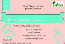 halal beauty class jakarta